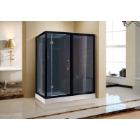 Комбинированная сауна 2в1 Ceruttispa Albano Nero K9752R Black
