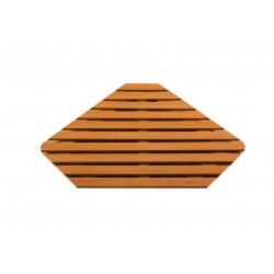 Деревянная решётка пентагональная P101 86х86