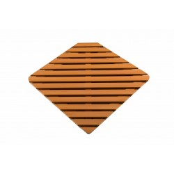Деревянная решётка квадратная Q91 76х76