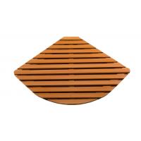 Деревянная решётка полукруг R90 76х76