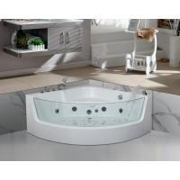 Акриловая гидромассажная ванна Ceruttispa C-400 1350х1350х580
