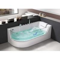 Акриловая гидромассажная ванна Ceruttispa C-403 R 1700x800x580