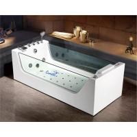 Акриловая гидромассажная ванна Ceruttispa C-453 1800x800x580