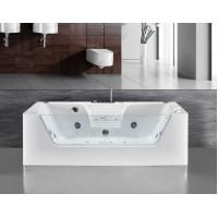 Акриловая гидромассажная ванна Ceruttispa C-477-18 850X1800X580