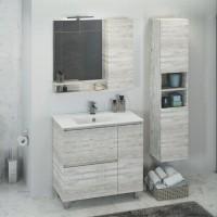 Комплект мебели Comforty Верона 90, напольная, дуб белый