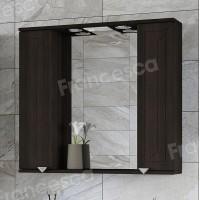 Зеркало-шкаф Francesca Адажио 80 венге