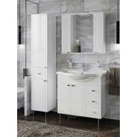 Комплект мебели Francesca Адажио 80 белый (2дв.+3ящ, ум. Эльбрус 80)