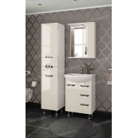 Комплект мебели Francesca Виктория 60 бежевый (3 ящика, 1 дверь)