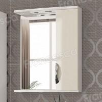 Шкаф-зеркало Francesca Виктория 60 бежевый