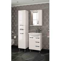 Комплект мебели Francesca Виктория 60 белый (3 ящика, 1 дверь)