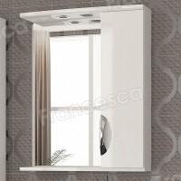 Шкаф-зеркало Francesca Виктория 60 белый