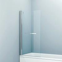 Шторка на ванну Iddis Slide SLI5CS7i90 75х145, профиль глянцевый алюминий
