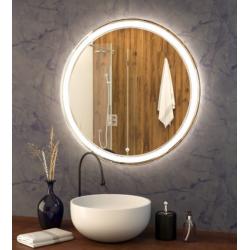 Зеркало с подсветкой Crystal Adela 700х700