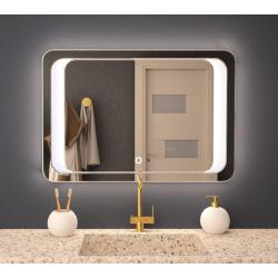 Зеркало с подсветкой Crystal Alberto 1000х800