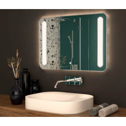 Зеркало с подсветкой Crystal Callisto 1000х800