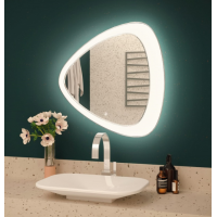 Зеркало с подсветкой Crystal Edda 700х700