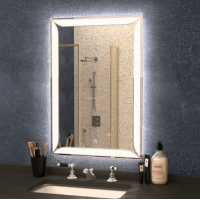 Зеркало с подсветкой Crystal Teodoro 700х800