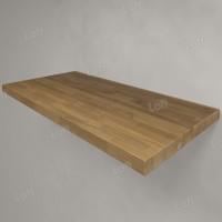 Столешница под раковину (массив дуба) 100, светлая