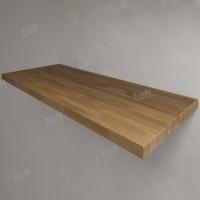 Столешница под раковину (массив дуба) 120, светлая