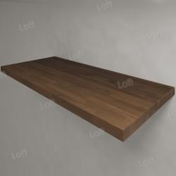 Столешница под раковину (массив дуба) 110, темная