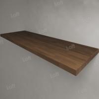Столешница под раковину (массив дуба) 150, темная