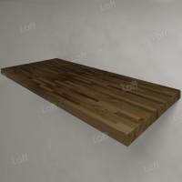 Столешница под раковину (массив лиственницы) 110, темная