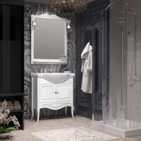 Комплект мебели Opadiris Брунелла 80 белый матовый