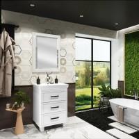 Комплект мебели Opadiris Вегас 60 напольная, белая
