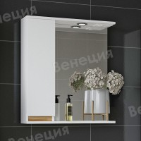 Зеркало-шкаф Венеция Bianco 60 белый