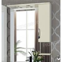 Шкаф-зеркало Francesca Виктория 80 бежевый