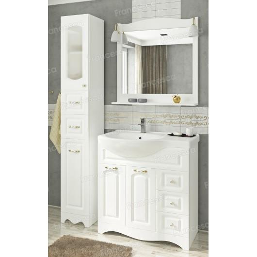 Комплект мебели Francesca Империя 83 белый, правый