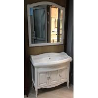 Комплект мебели Opadiris Лоренцо 100 белый матовый