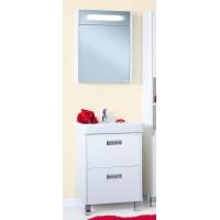 Комплект мебели Бриклаер Палермо 60 белый глянец