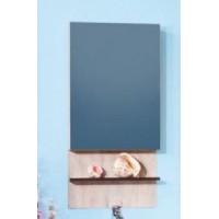 Зеркало-шкаф Бриклаер Карибы 60 дуб кантри, венге R