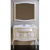 Комплект мебели Opadiris Лаура 120 с бежевой патиной