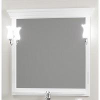 Зеркало Opadiris Риспекто 95 белый матовый