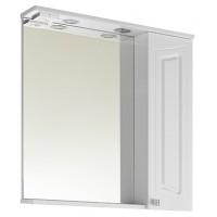 Зеркало-шкаф Vod-Ok Адам 75, белый