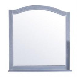 Зеркало ASB-Woodline Модерн 105 рошфор, белая патина