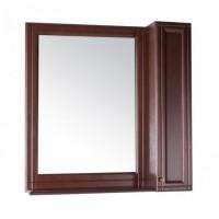 Зеркало-шкаф ASB-Woodline Берта 85 антикварный орех
