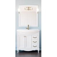 Комплект мебели ValenHouse Эллина 85 Белый
