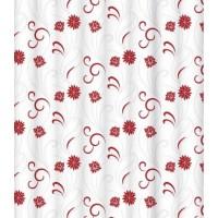 Штора для ванной комнаты LeMark Red wind garden C1820P002