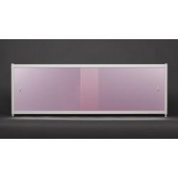 Экран под ванну Francesca Premium 150/170/180 розовый-металлик