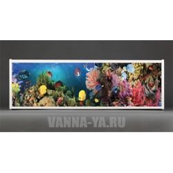 Фотоэкран под ванну Francesca Premium Морские краски 150/170/180 см (Антискользящее Основание)
