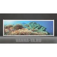 Фотоэкран под ванну Francesca Premium Морское дно 150/170/180 см (Антискользящее Основание)