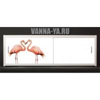 Экран под ванну Francesca Elite Фламинго 140-180 см (Антискользящее Основание)