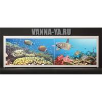 Экран под ванну Francesca Elite Полёт черепахи 140-180 см (Антискользящее Основание)