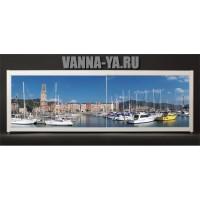 Экран под ванну Francesca Elite Яхты в порту 140-180 см (Антискользящее Основание)