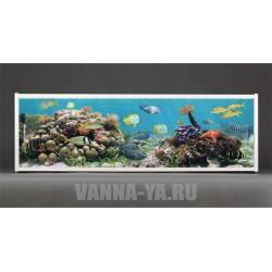 Фотоэкран под ванну Francesca Premium Подводное царство 150/170/180 см (Антискользящее Основание)