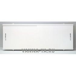 Экран под ванну раздвижной Francesca Luxe 1.5,1.7,1.8 белый (Антискользящее Основание)