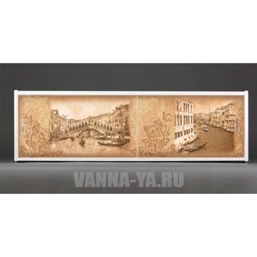 Фотоэкран под ванну Francesca Premium Венеция 150/170/180 см (Антискользящее Основание)